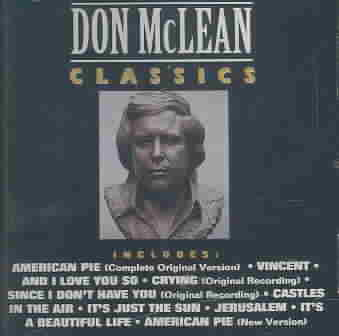 DON MCLEAN CLASSICS BY MCLEAN,DON (CD)